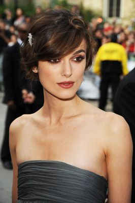 """Actress Kiera Knightley arrives at the premiere of """"The Duchess"""" held at Roy Thomson Hall during the 2008 Toronto International Film Festival on Septmeber 7, 2008 in Toronto, Canada.2008 Toronto International Film Festival - """"The Duchess"""" - PremiereRoy Thompson HallToronto, Ontario CanadaSeptember 7, 2008Photo by George Pimentel/WireImage.comTo license this image (55659629), contact WireImage.com"""