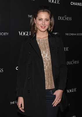 """Actress Eva Amurri attends the Cinema Society with Chanel and Vogue's screening of """"The Duchess"""" at the Public Theater on September 10, 2008 in New York City.The Cinema Society with Chanel and Vogue Host a Screening of """"The Duchess"""" - ArrivalsThe Public TheaterNew York, NY United StatesSeptember 10, 2008Photo by Dimitrios Kambouris/WireImage.comTo license this image (16008541), contact WireImage.com"""